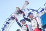 2月のWRC第2戦スウェーデンで勝利したトヨタ
