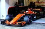 2017年第2回F1合同テスト1日目 ストフェル・バンドーン(マクラーレン・ホンダ)