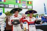 通算3度目の総合優勝を飾ったクリス・ミーク(シトロエンC3 WRC)
