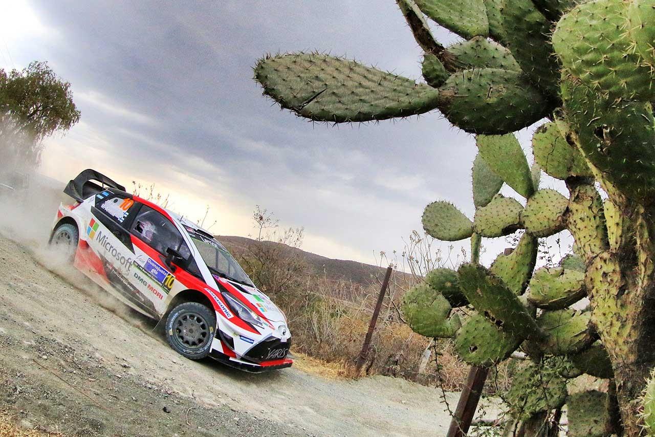 世界ラリー選手権第3戦メキシコ