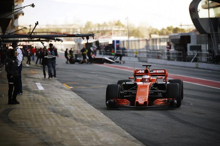 F1 | マクラーレンF1、ホンダの新仕様パワーユニットに期待をかける。「開幕戦までにはトラブルの対策を」
