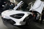 F1 | F1技術を注入。マクラーレンがバージボードを搭載した新型車両720Sを都内で発表