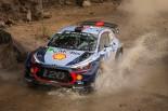 WRC第3戦メキシコ ティエリー・ヌービル(ヒュンダイi20クーペWRC)