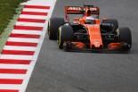 2017年第2回F1合同テスト2日目 フェルナンド・アロンソ(マクラーレン・ホンダ)