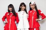 富士スピードウェイイメージガール「クレインズ」を務める村井瑞稀さん、永原芽衣さん、夏江花さん