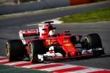 2017年第2回F1合同テスト3日目 セバスチャン・ベッテル(フェラーリ)