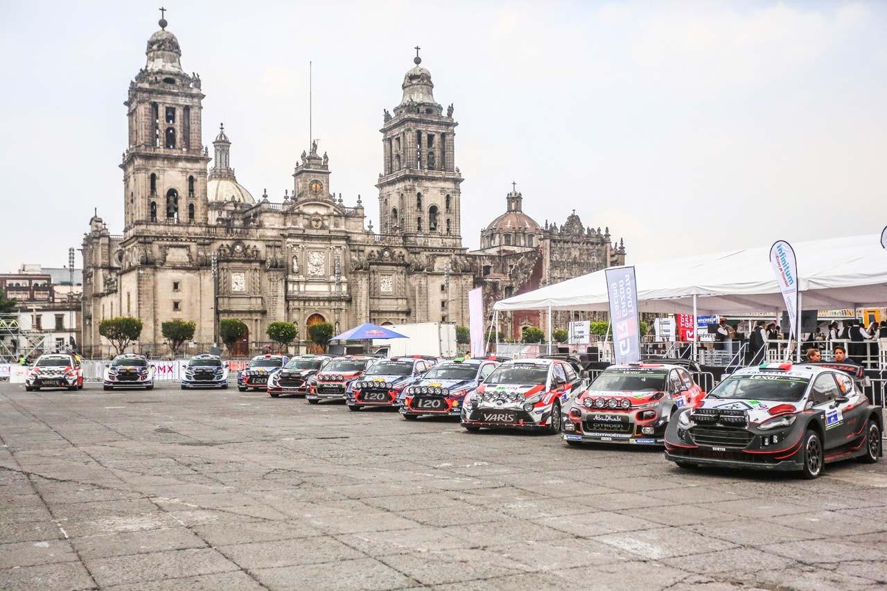 WRCメキシコ:トヨタが2戦連続で初日首位。各メーカーがトップ4を分け合う