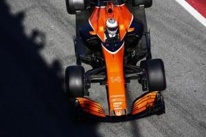2017年第2回F1合同テスト4日目 フェルナンド・アロンソ(マクラーレン・ホンダ)