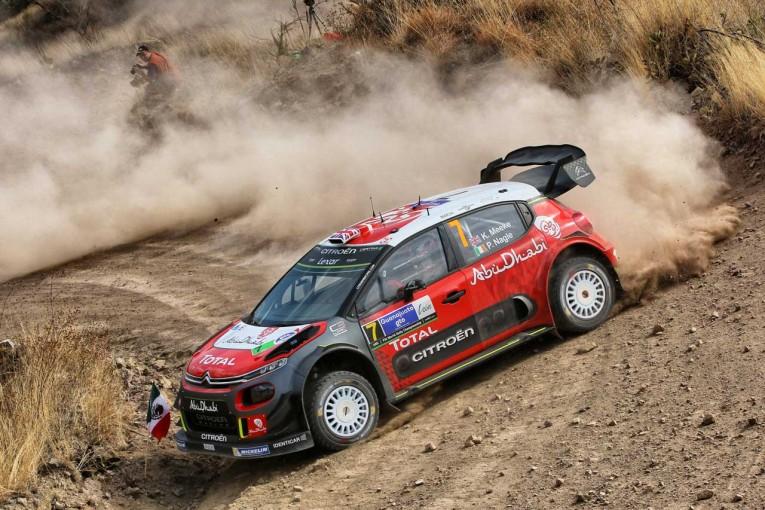 ラリー/WRC | シトロエンのミークが首位浮上/【順位結果】世界ラリー選手権第3戦メキシコ SS8後