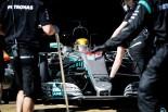 2017年第2回F1合同テスト4日目 ルイス・ハミルトン(メルセデス)