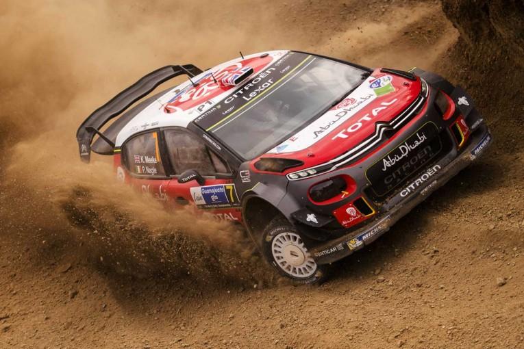 ラリー/WRC   WRCメキシコ:好調シトロエンが首位キープ。トヨタのラトバラは6番手浮上