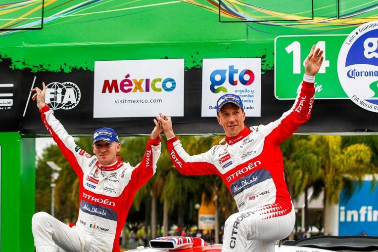 ラリー/WRC | WRCメキシコ:コースアウトで駐車場に飛び込むも、ミークが今季初優勝。トヨタ3戦連続完走
