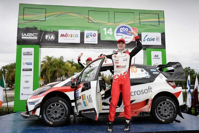 ラリー/WRC | WRC:トヨタ、初グラベルで2台揃ってポイント獲得。「今回学んだことは必ず役立つ」とマキネン