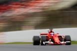 テストで好調だったフェラーリとライコネン。1分18秒台の最速タイムを記録した