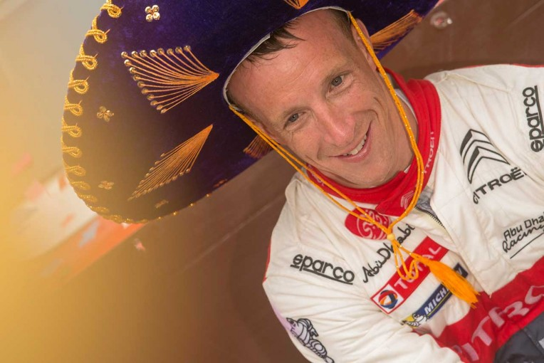 WRC第3戦メキシコを制したクリス・ミーク(シトロエンC3 WRC)