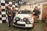 ラリー/WRC | モータージャーナリストの竹岡圭、アバルト500で全日本ラリー参戦