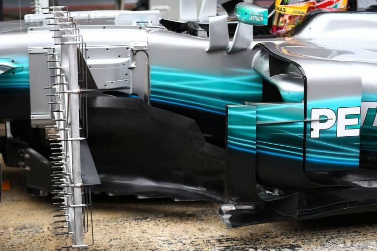 F1 | 【F1新車分析】メルセデスW08:タイトル防衛に抜かりなし、作り込んだディテールは必見