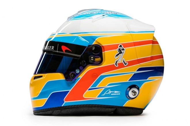 F1 | フェルナンド・アロンソ(Fernando Alonso) 2017年のヘルメット1