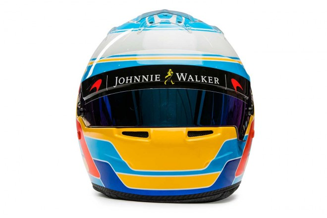 F1 | フェルナンド・アロンソ(Fernando Alonso) 2017年のヘルメット2