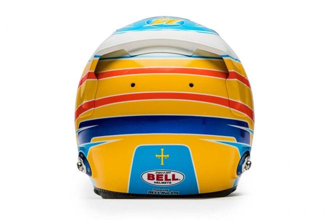 F1 | フェルナンド・アロンソ(Fernando Alonso) 2017年のヘルメット3
