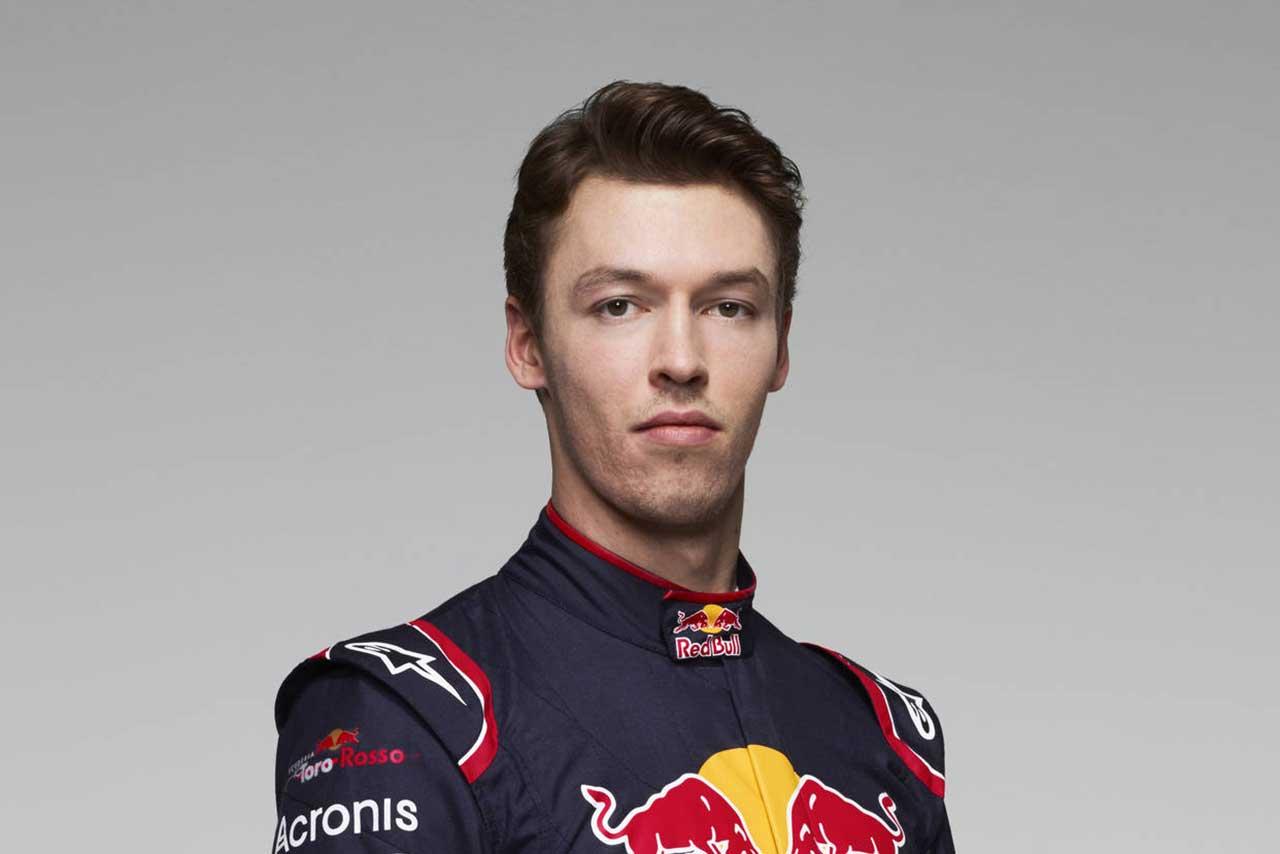 F1   ダニール・クビアト(Daniil Kvyat)(スクーデリア・トロロッソ) 2017年