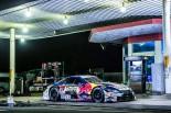 レッドブル・ジャパンが公開した動画のひとコマ。日本らしさ満載のデコトラ、街道レーサーとKeePer TOM'S LC500