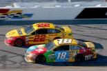 NASCAR:ラスベガス戦で乱闘騒ぎのブッシュとロガーノ、おとがめなし