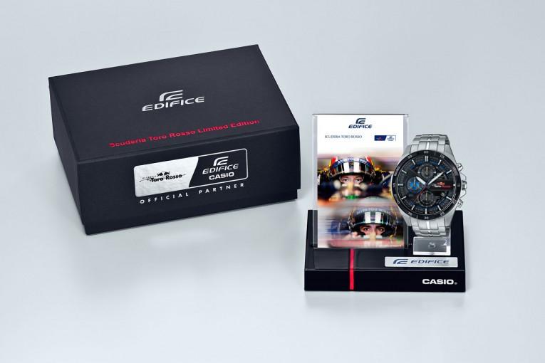 "F1   カシオ&トロロッソのコラボ""第2弾""。イメージ一新の『EDIFICE』限定モデル登場"
