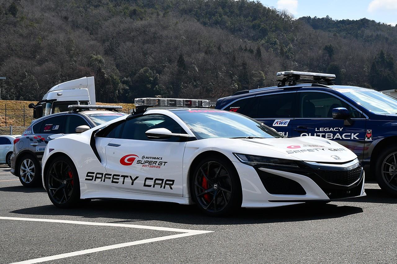 新色、ゾクゾク。スーパーGT公式テストに向け岡山国際サーキットにマシン集結