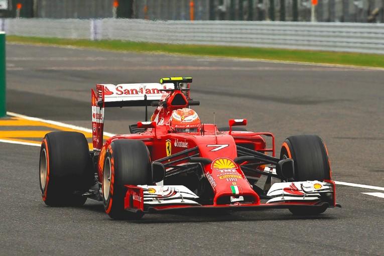F1 | 鈴鹿2&4でNGK搭載マシンの特別展示開催。フェラーリF1、MotoGPマシンが登場