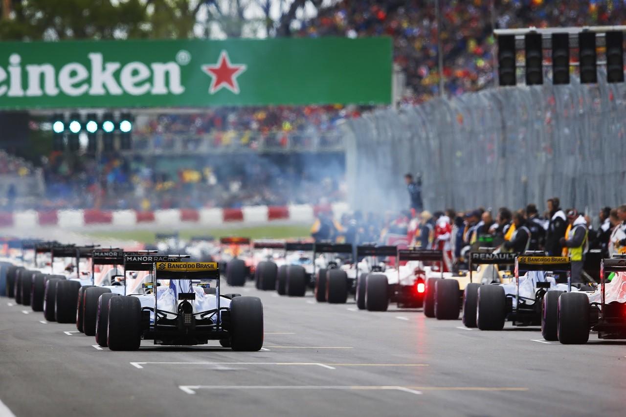 2016年F1カナダGPスタート