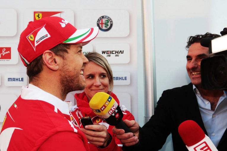 F1バルセロナ合同テスト セバスチャン・ベッテル