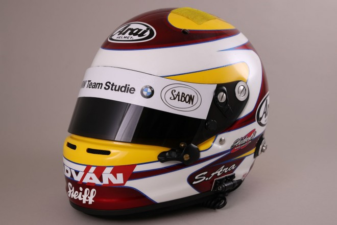スーパーGT | ヨルグ・ミューラー(スーパーGT) 2017年のヘルメット1