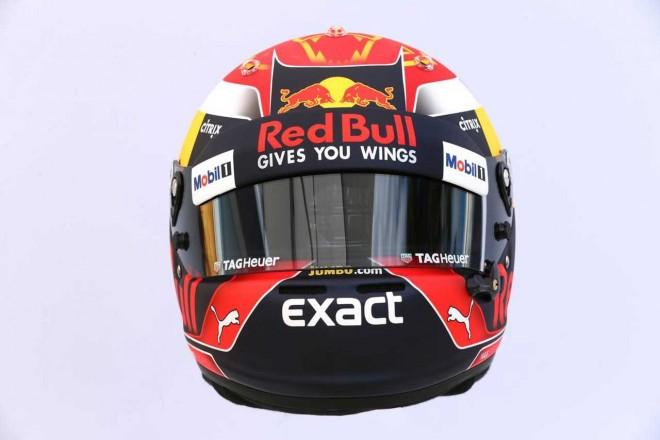 F1 | マックス・フェルスタッペン(Max Verstappen) 2017年のヘルメット2