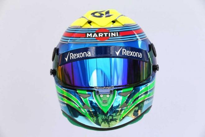 F1 | フェリペ・マッサ(Felipe Massa) 2017年のヘルメット2
