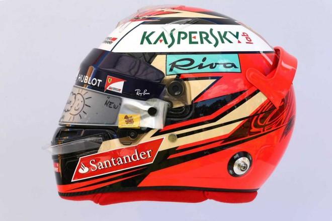 F1 | キミ・ライコネン(Kimi Raikkonen) 2017年のヘルメット1
