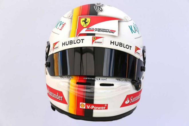 F1 | セバスチャン・ベッテル(Sebastian Vettel) 2017年のヘルメット2