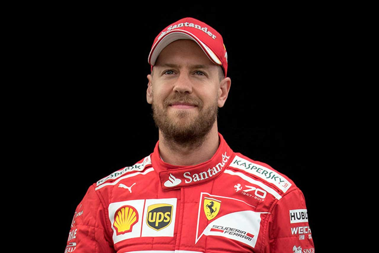 F1 | セバスチャン・ベッテル(Sebastian Vettel)(スクーデリア・フェラーリ) 2017年