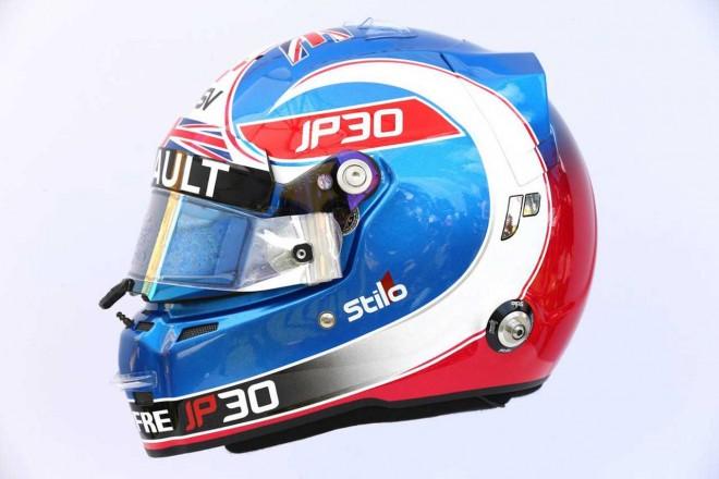 F1 | ジョリオン・パーマー(Jolyon Palmer) 2017年のヘルメット1