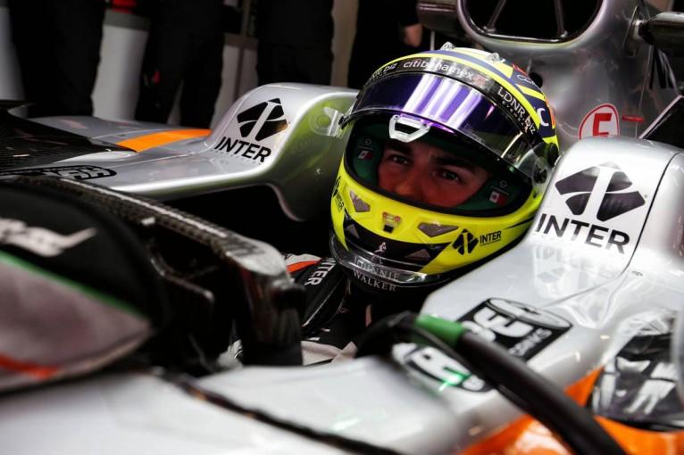 第2回F1バルセロナテスト、フォース・インディアのセルジオ・ペレス