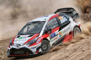 WRC第3戦メキシコではマシントラブルに苦しんだトヨタ・ヤリスWRC