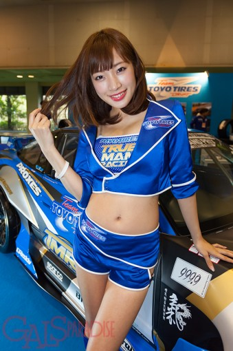 レースクイーン   日比ゆり(Team TOYO TIRES DRIFT/OAM2017)