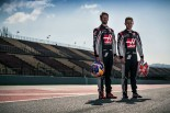 2017年のハースF1で戦う ロマン・グロージャンとケビン・マグヌッセン