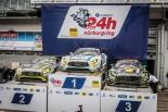 2016年のニュルブルクリンク24時間で表彰台を独占したメルセデスベンツAMG GT3陣営