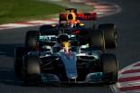 【関連写真】2017年F1合同テスト ルイス・ハミルトン(メルセデス)とマックス・フェルスタッペン(レッドブル)