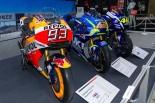 第44回東京モーターサイクルショーの会場にはレースマシンも数多く展示