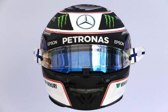 F1 | バルテリ・ボッタス(Valtteri Bottas) 2017年のヘルメット2