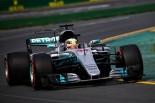 FP1トップタイムを記録したルイス・ハミルトン(メルセデス)