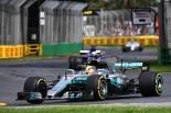 オーストラリアGP初日を首位で終えたルイス・ハミルトン(メルセデス)