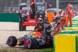 F1 | 予選Q3クラッシュのリカルド、意気消沈「新世代F1マシンをもっと理解しなければ…」
